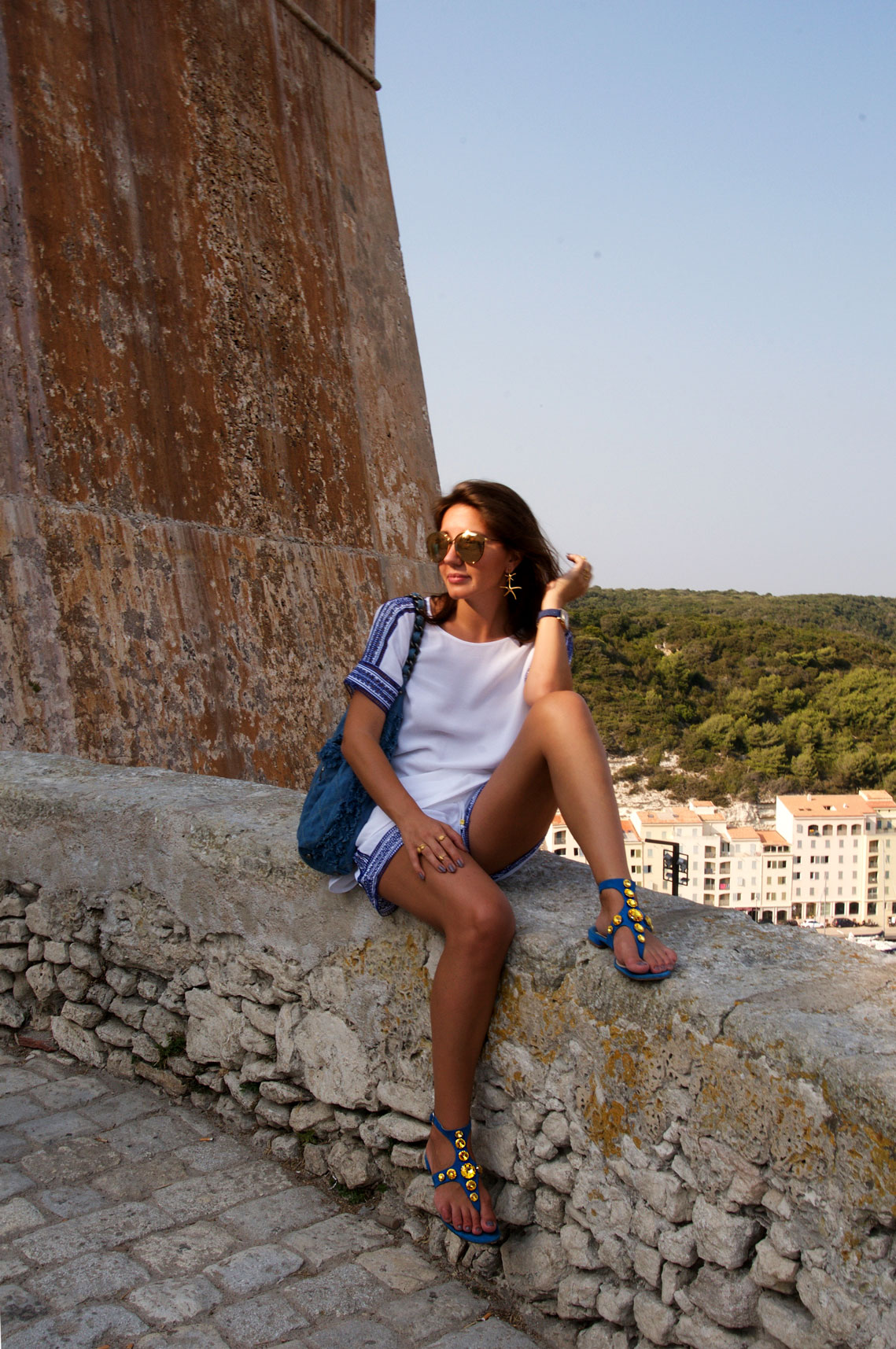 7 More Minutes. Lifestyle, travel and fashion blog by Alyona Prykhodko. Corsican Ice Cream. Travel. Corsica, France. Summer 2015. www.7moreminutes.com