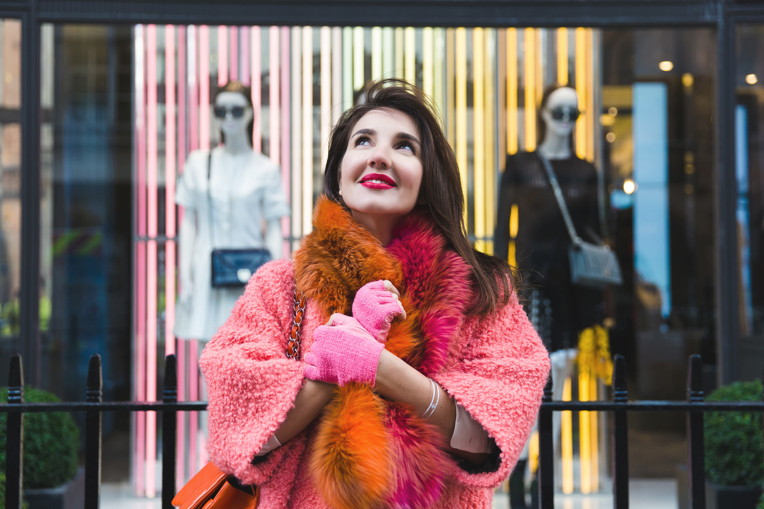 7 More Minutes. Fashion, travel and lifestyle blog by Alyona Gasimova. Colourblind. A Pop Of Colour This February. Pink Meets Orange. www.7moreminutes.com